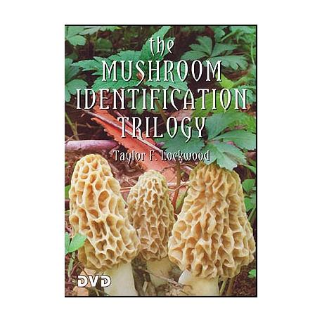 Taylor Lockwood's Mushroom Identification Trilogy DVD